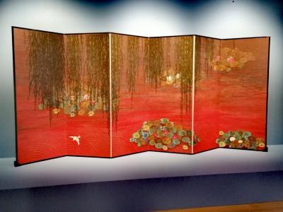 Reflets du couchants sur l'étang (2011)